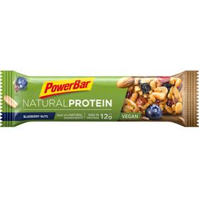 PowerBar Natural Protein Riegel Box Blueberry Nuts (Vegan) 24 x 40g